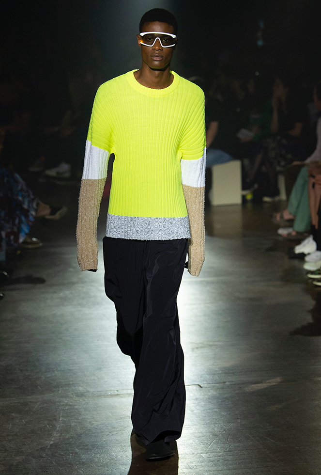 Key SS19 Mens Color Trend Neon Yellow or Highlighter