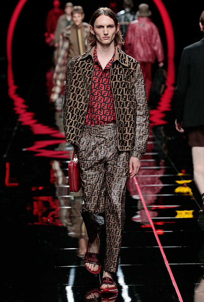 8c1bc0cce3 Fendi Men s Spring Summer 2019 Collection