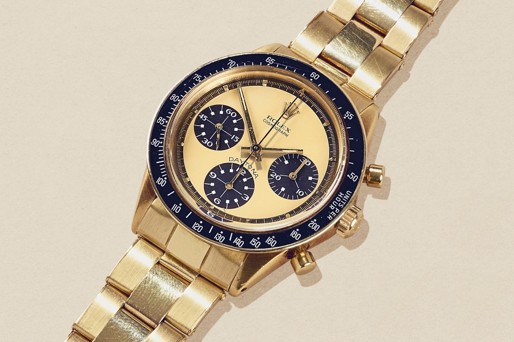 Own Paul Newman S Rare 18k Yellow Gold Rolex Daytona For 1 3