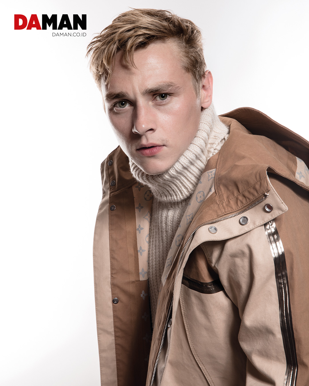DAMAN October/November Issue Cover Star Ben Hardy of Queen ...