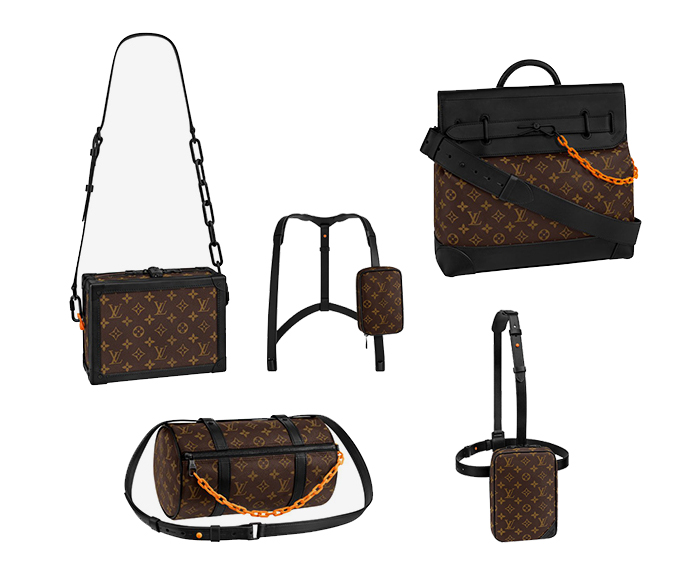If You Remember The June Show Ll Notice How Abloh Embraced Lv S Everlasting Obsession With Accessories Most Notably Their Bags And Created A Whole