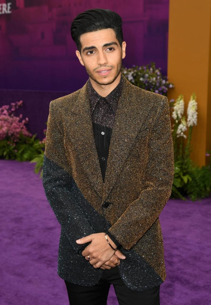 Mena Massoud In Givenchy For World Premiere Of Quot Aladdin
