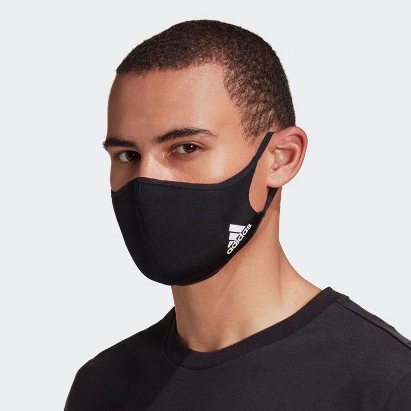 Adidas Launches All Black Washable Face Mask Da Man Magazine