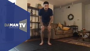 DA MAN Special Home Training Session featuring Yoshi Sudarso