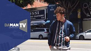 "Behind the Scenes of DA MAN's Photo Shoot ft. Nolan Gould from ""Modern Family"""