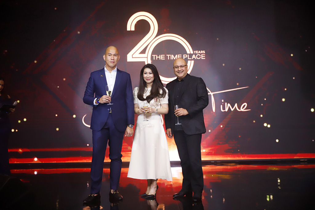 Adhidarma Herman, Shannon Hartono and Irwan Danny Mussry at The Time Place's 20th Anniversary