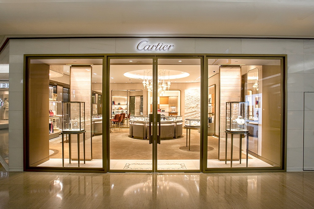 The Cartier boutique at Plaza Indonesia