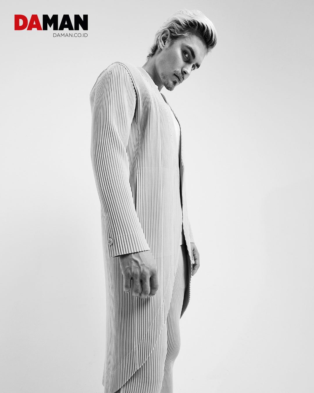 On Otto: Outfit by Homme Plissé Issey Miyake